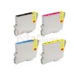 4 Pack Compatible Epson T0621 T0632 T0633 T0634 Ink Cartridge Set