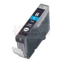 Canon CLI-8C Compatible Cyan Inkjet Cartridges (with Chip)