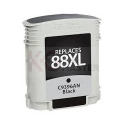 HP 88XL Compatible Black High Yield Inkjet Cartridge C9396A - 2,450 Pages