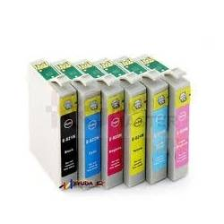 6 Pack Compatible Epson 82N series Ink Cartridge [1BK,1C,1M,1Y,1LC,1LM]