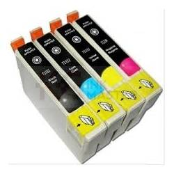 4 Pack Compatible Epson 133 T1331 T1332 T1333 T1334 Ink Cartridge Set (1B,1C,1M,1Y)